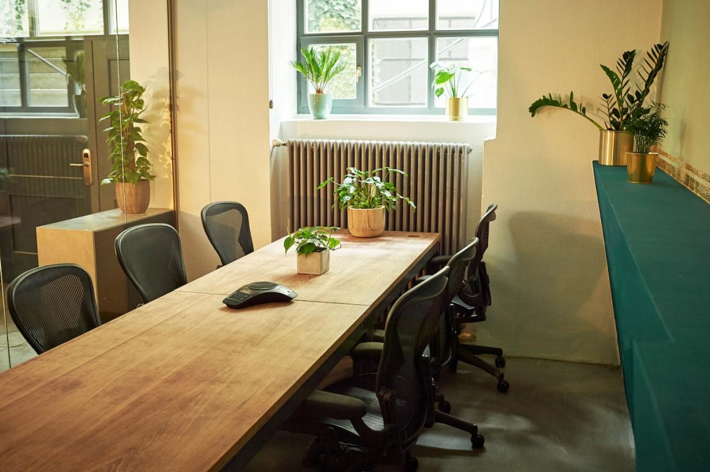 Flexible und feste Arbeitsplätze im Herzen von München